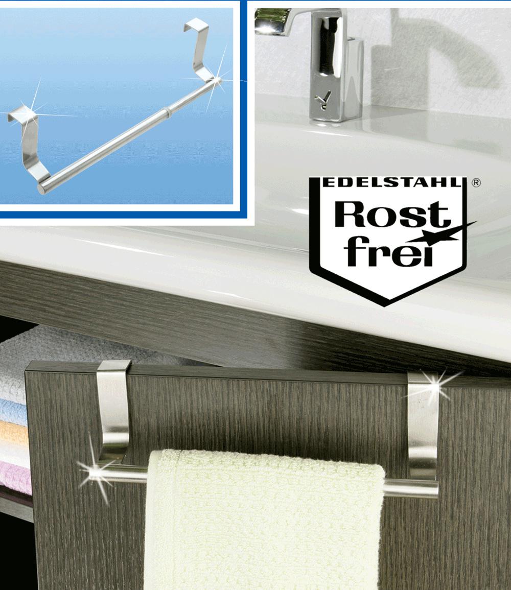 Tür-Handtuchstange ausziehbar
