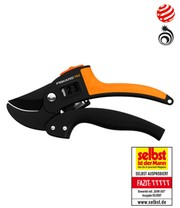 Fiskars® Power Step Gartenschere, Amboss