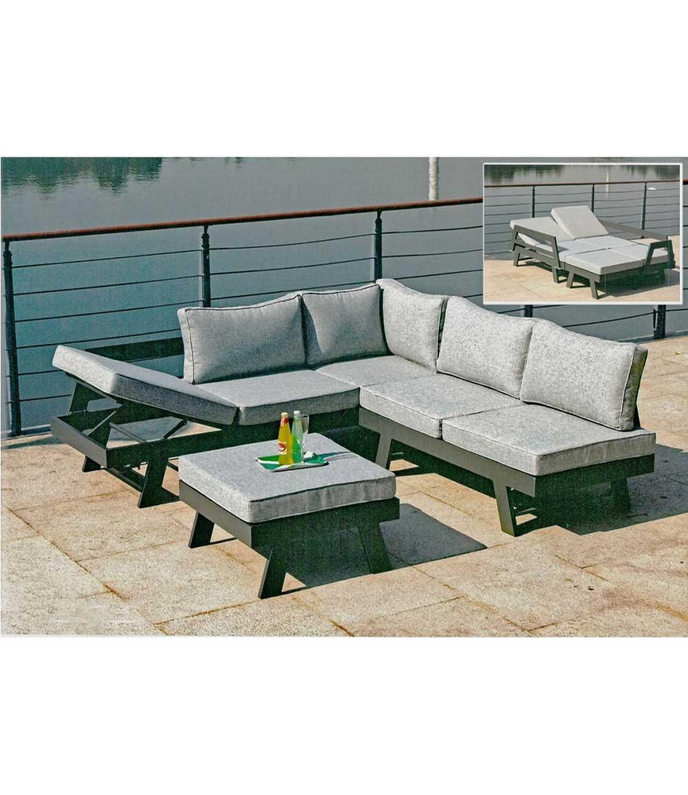 Lounge-Set DONNA, 3 teilig