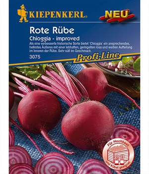 Rote Rübe  - Chioggia - ,1 Portion