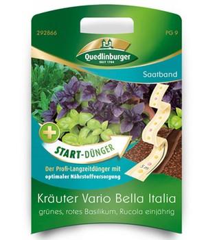 Saatband Kräuter Vario Bella Italia+Start-Dünger, 5 m,1 Set