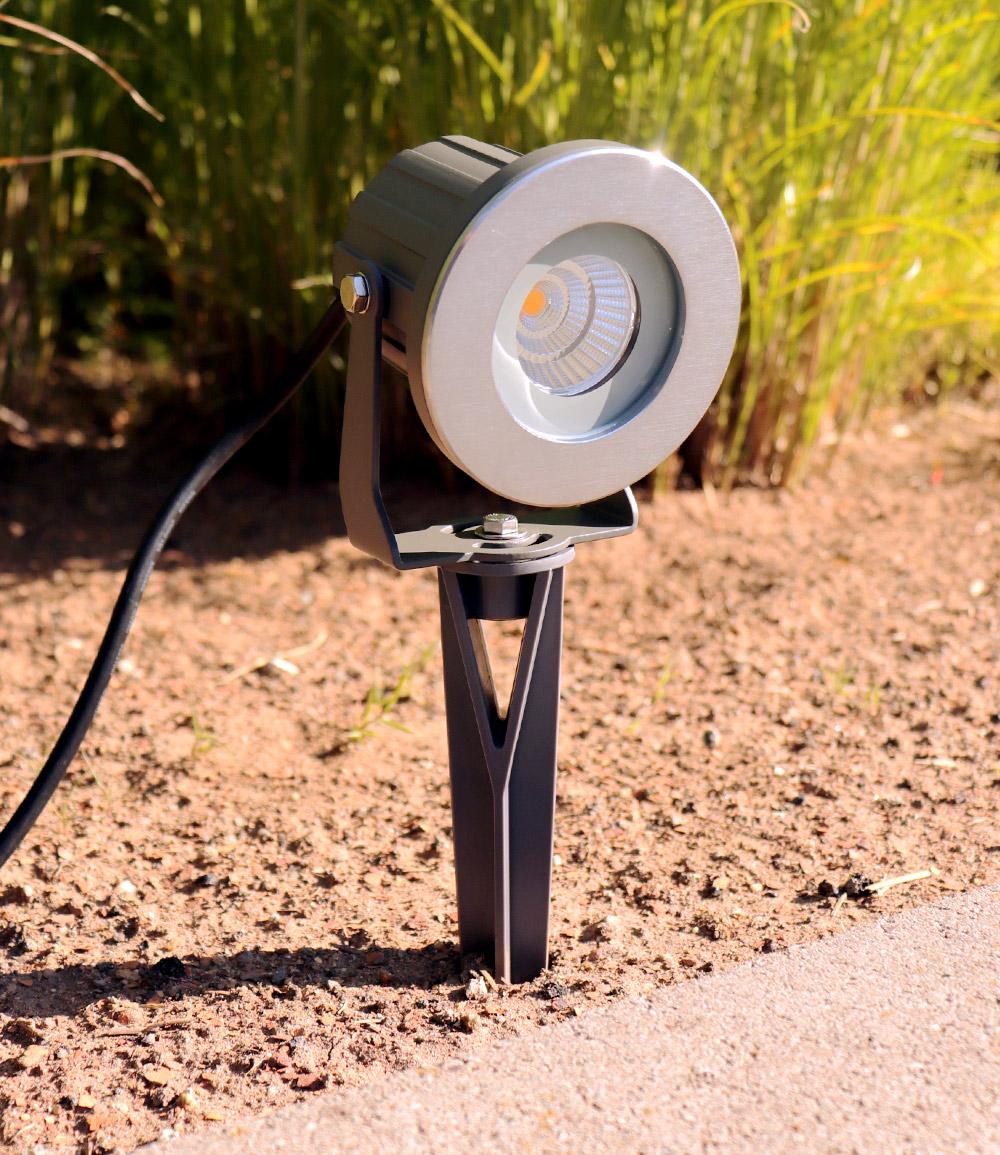 Alu-LED-Gartenstrahler