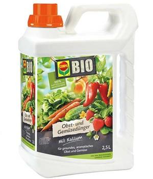 COMPO&reg, BIO Obst- und Gemüsedünger,2,5 Liter