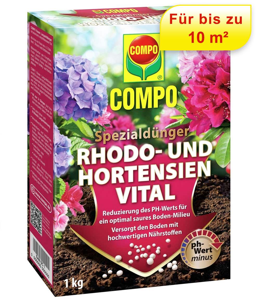 COMPO® Spezialdünger Rhodo- und Hortensien Vital