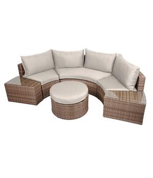 Sofa  - TALAVERA - , halbkreisförmig 6-teilig,1 Stück Sofa  - TALAVERA - , halbkreisförmig 6-teilig,1 Stück, 970247