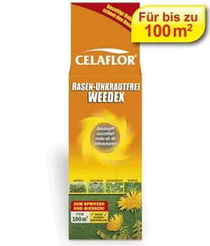 CELAFLOR&reg, Rasen-Unkrautfrei Weedex&reg, für 100 m²,100 ml