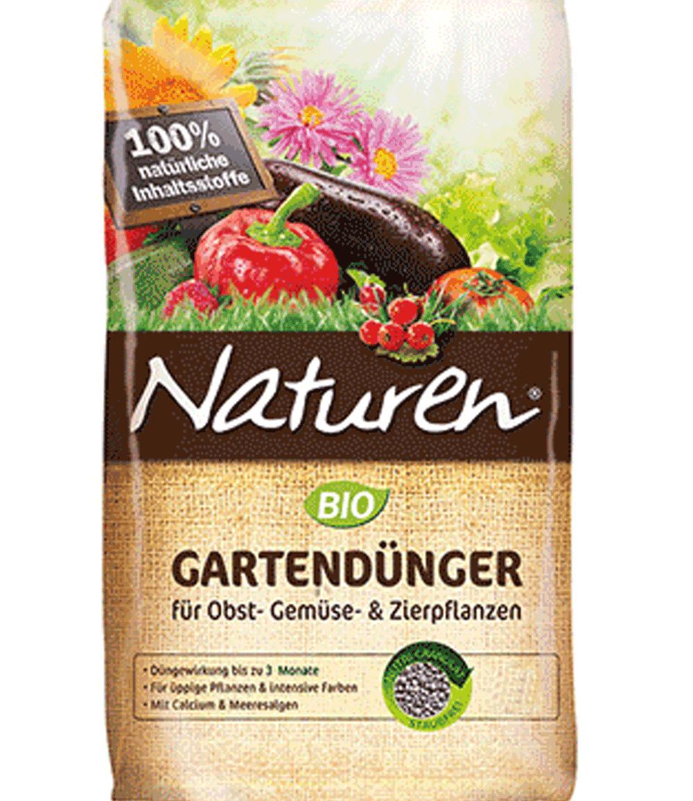 Naturen® BIO Gartendünger für Obst- Gemüse- & Zierpflanzen