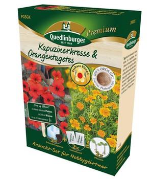 Anzuchtset  - Kapuzinerkresse & Orangentagetes - ,1 Set