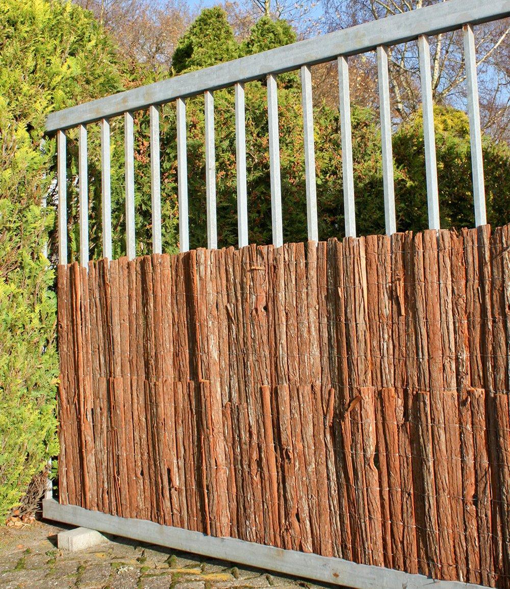 Sichtschutz rinde 100x300 cm 1a qualit t baldur garten for Baldur garten erfahrung
