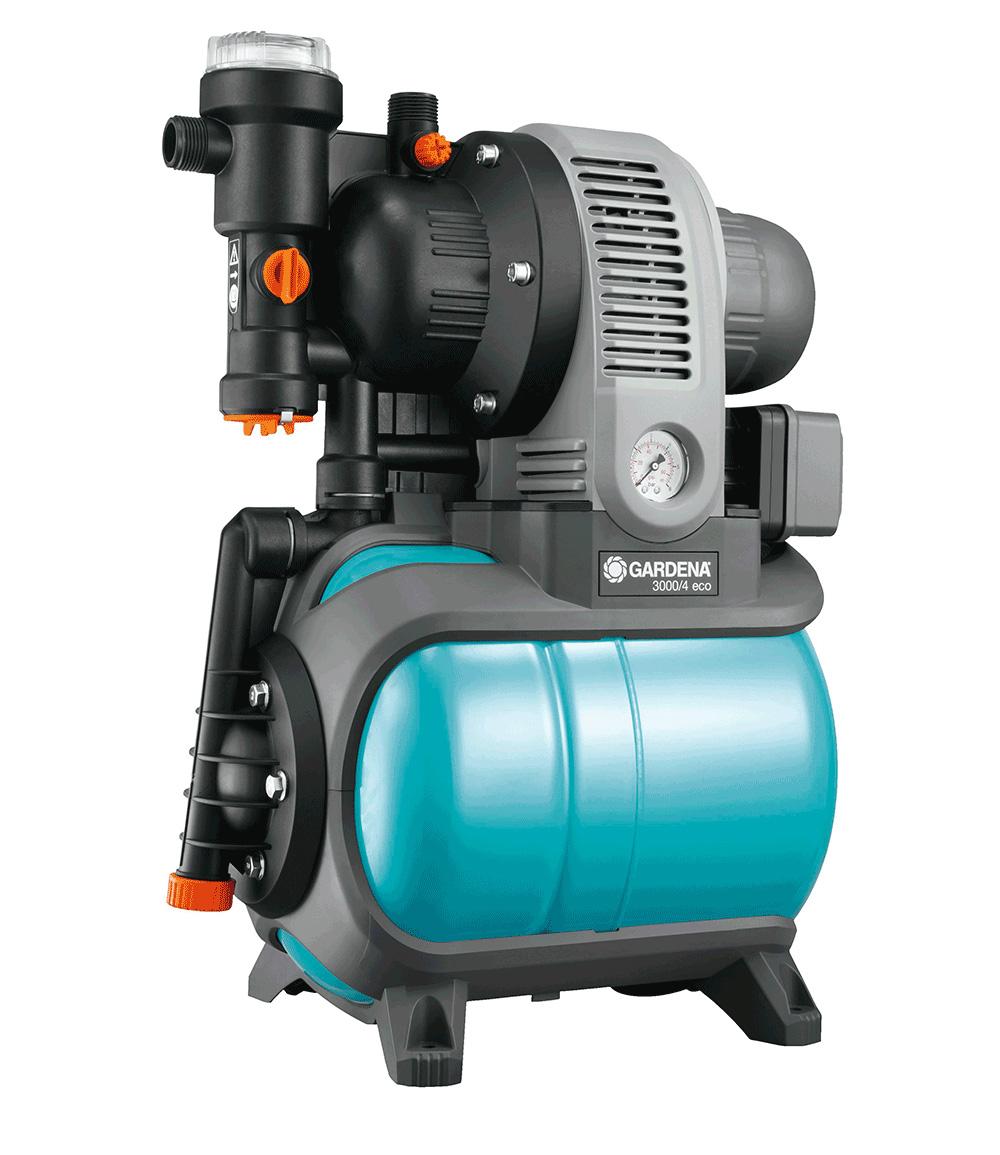 GARDENA® Classic Hauswasserwerk 3000/4 eco