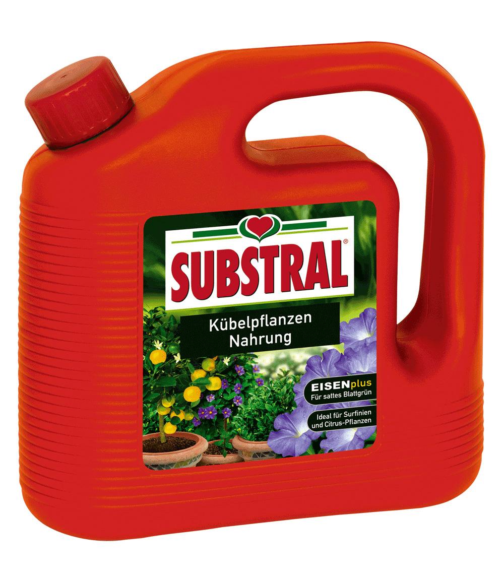 Substral® Dünger für Kübel- und Balkonpflanzennahrung 2-Liter-Kanister