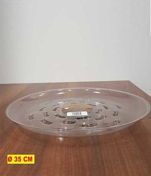 Transparenter Untersetzer 35 Zentimeter ,1 Stück