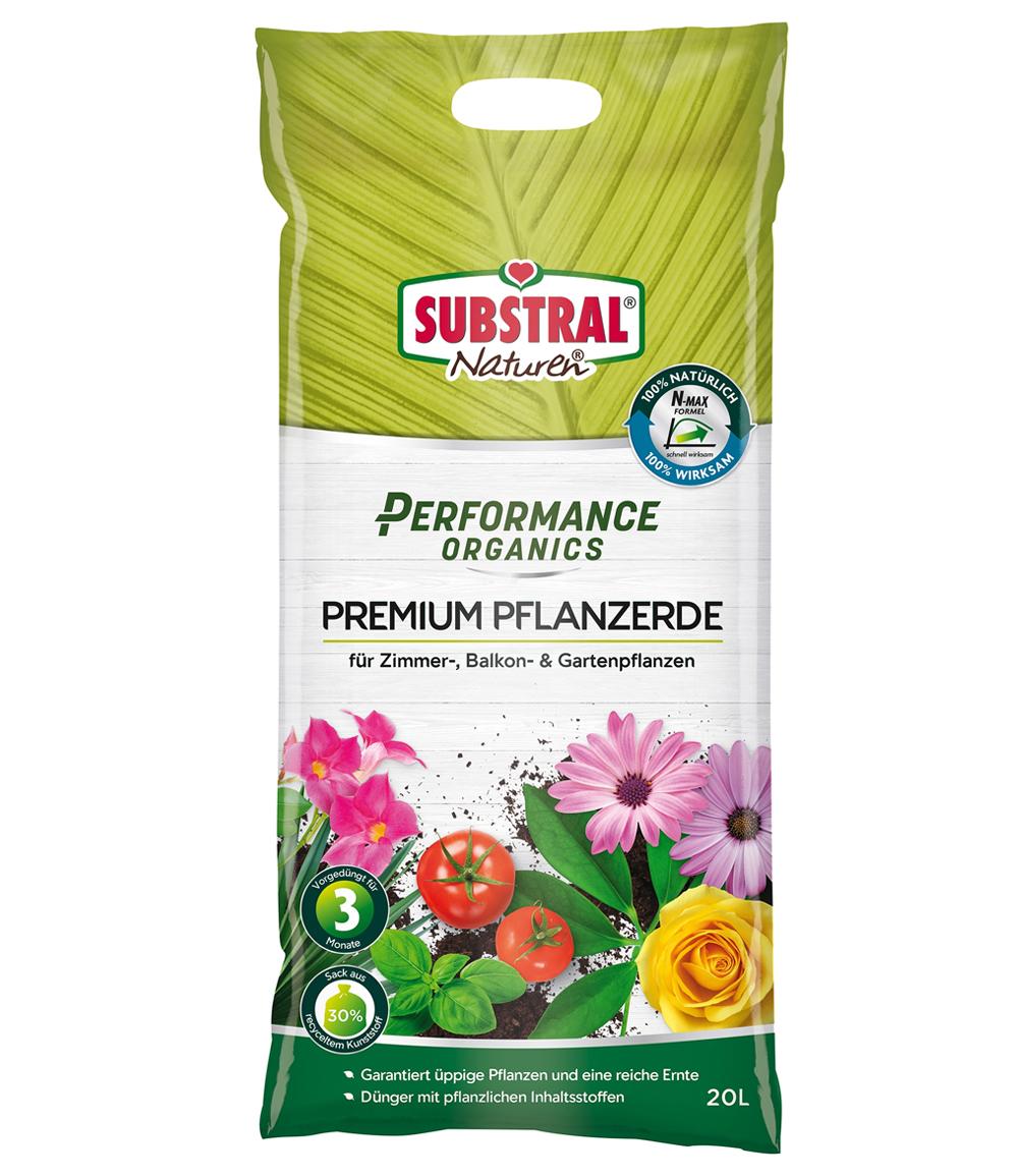 SUBSTRAL® Performance Organics Pflanzerde Premium