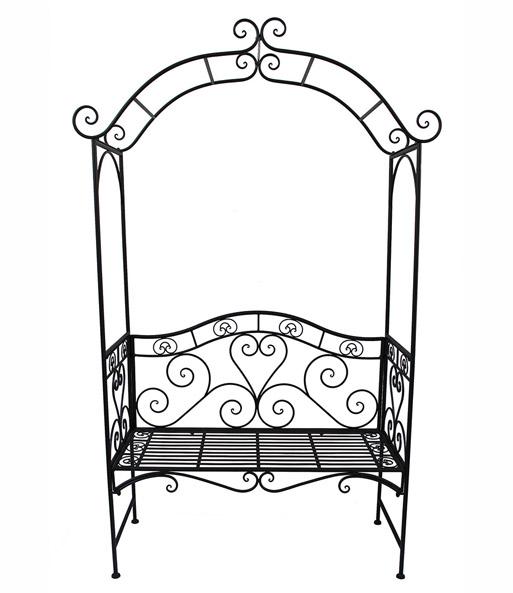 bank mit rosenbogen top qualit t kaufen baldur garten. Black Bedroom Furniture Sets. Home Design Ideas