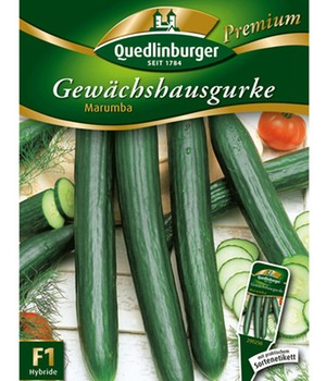 Gewächshaus-Gurke  - Marumba - ,1 Portion