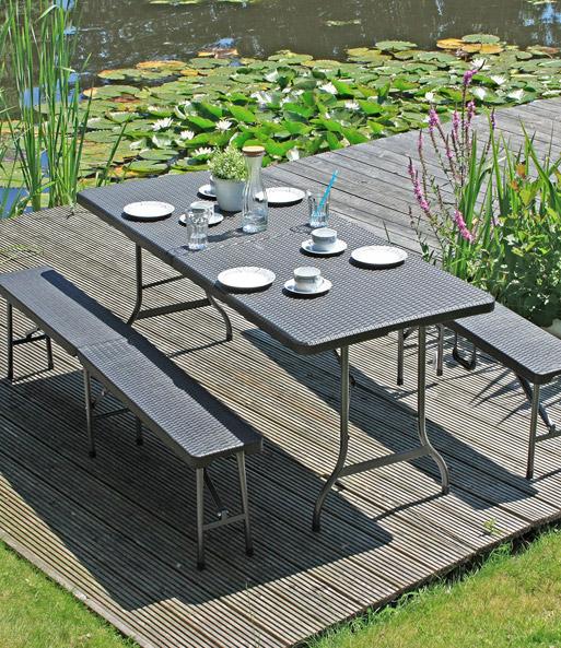 tisch set ventana jetzt online kaufen baldur garten. Black Bedroom Furniture Sets. Home Design Ideas