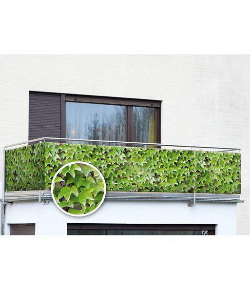 balkon sichtschutz wilder wein gartendeko bei baldur garten. Black Bedroom Furniture Sets. Home Design Ideas