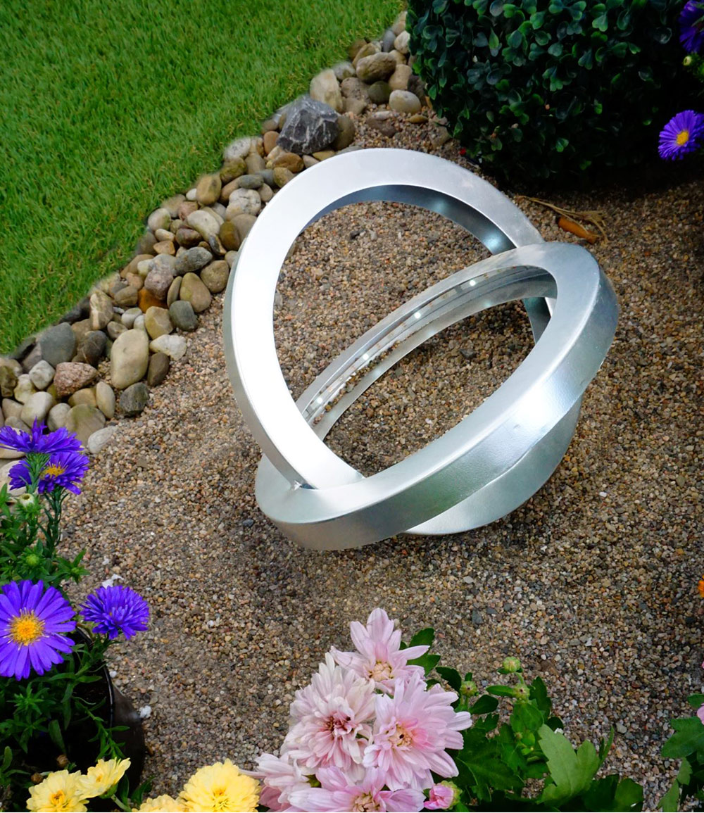 LED Solarleuchte 'Ringe'