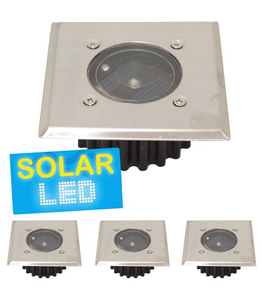 4er set led solar bodenstrahler 39 ec solarleuchten bei baldur garten. Black Bedroom Furniture Sets. Home Design Ideas