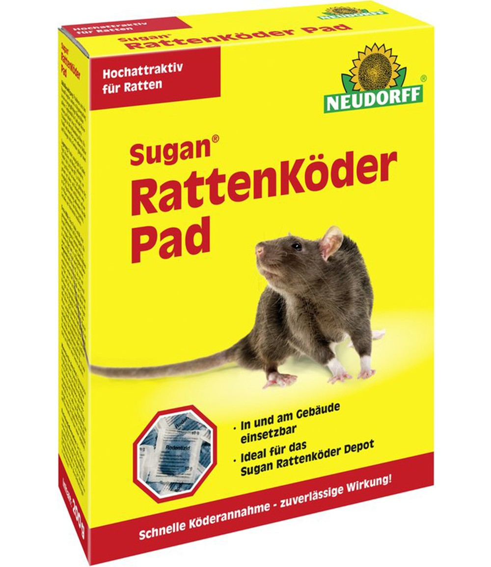 Neudorff® Sugan® Rattenköder Pad