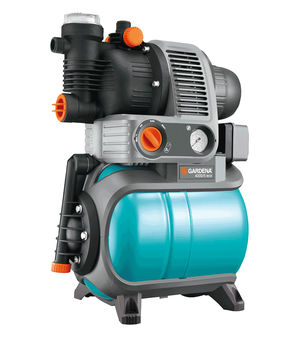 GARDENA® Comfort Hauswasserwerk 4000/5 eco