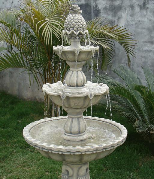 Springbrunnen 3 st ckig gartendeko bei baldur garten for Garten springbrunnen