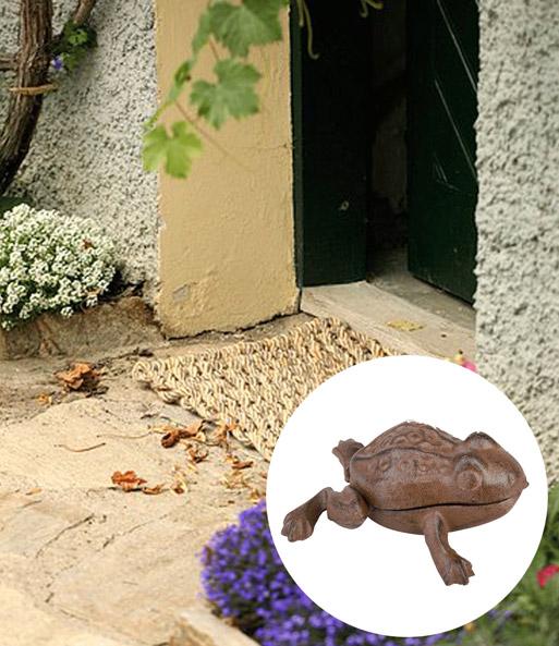 schl sselversteck frosch gartenfiguren bei baldur garten. Black Bedroom Furniture Sets. Home Design Ideas