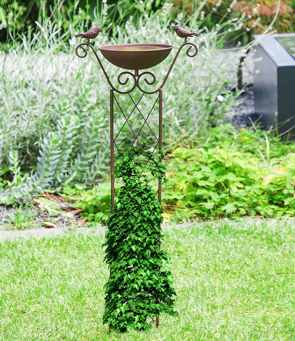 Vogeltränke aus Gusseisen, grün/schwarz (Kopie) Promondo (Kopie)