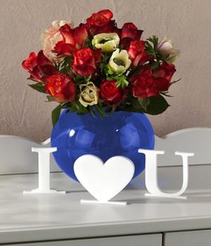 Die berühmten 3 Worte  - I Love You - ,1Stück