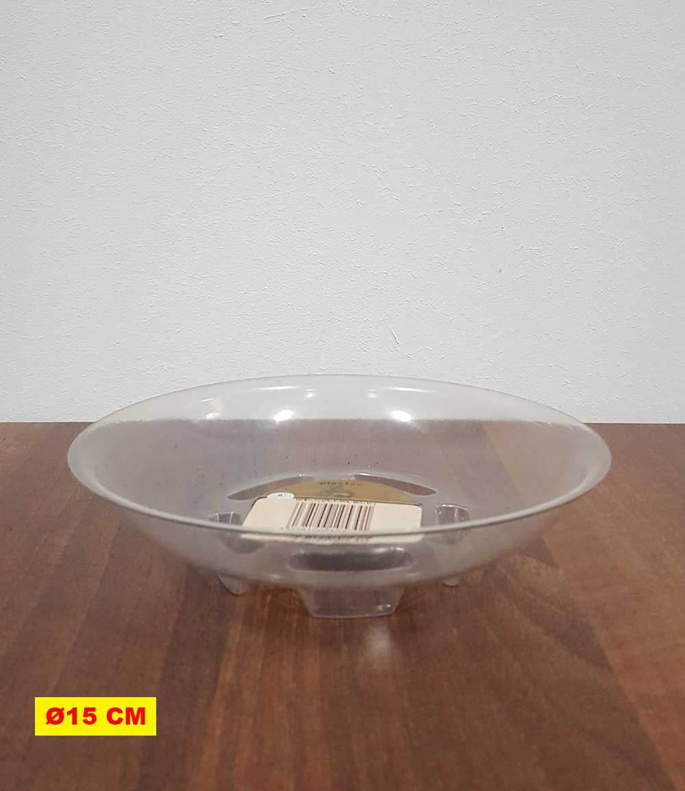Transparenter Untersetzer 15 cm