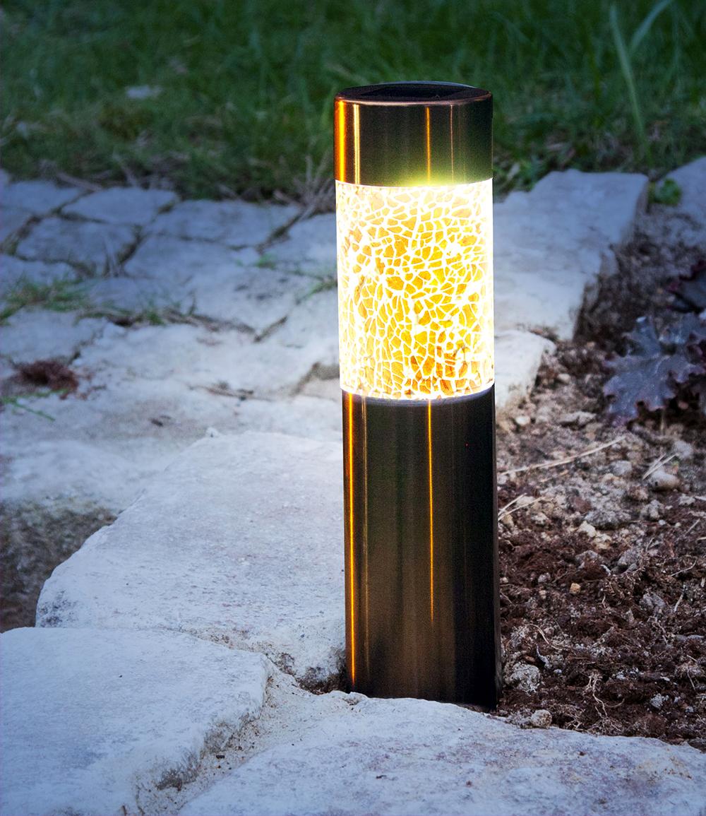 LED-Solar Säulenleuchte