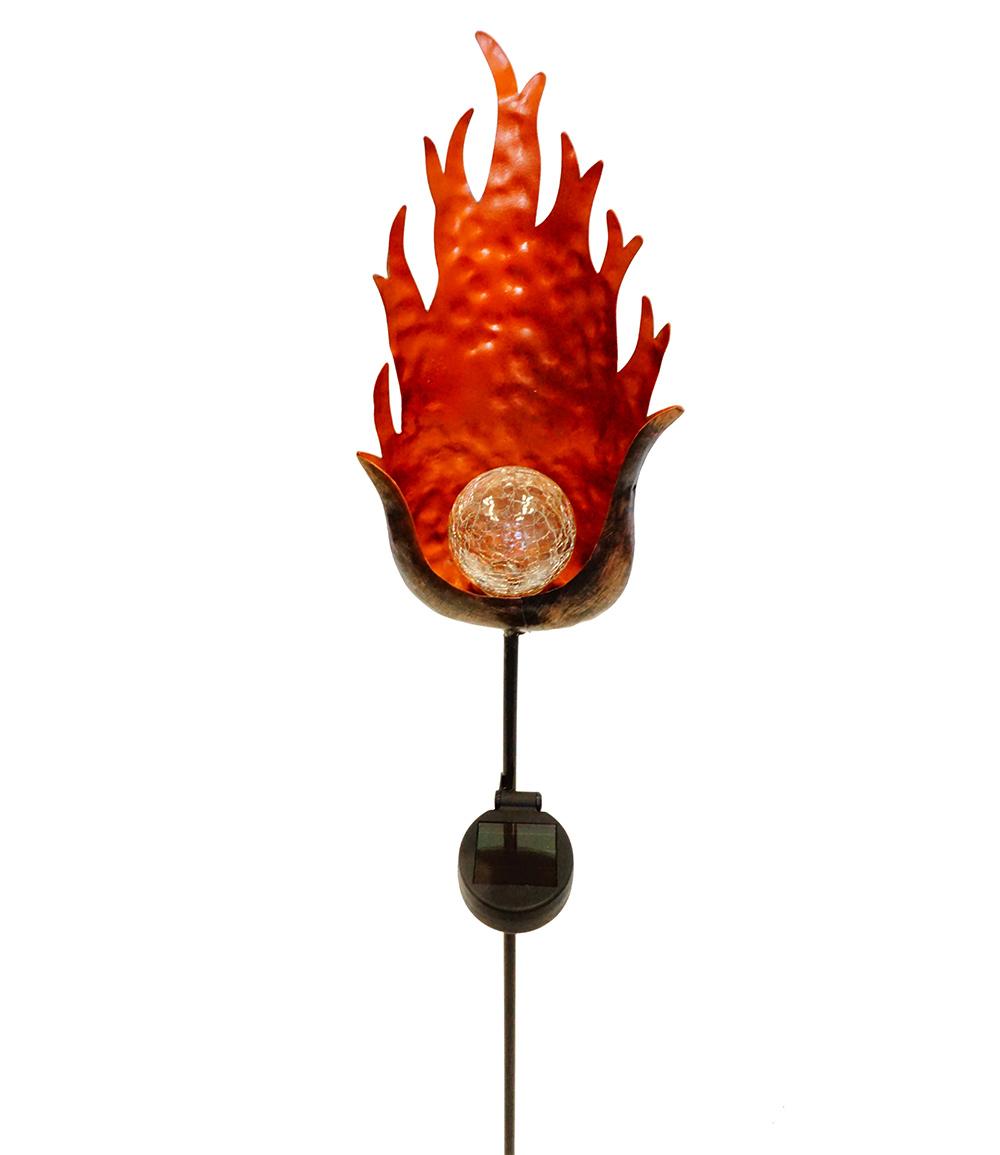 Solarstecker 'Flamme'
