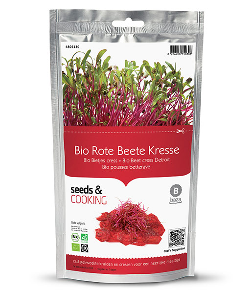 Seeds & Cooking BIO-Rote Beete 'Cylindra'