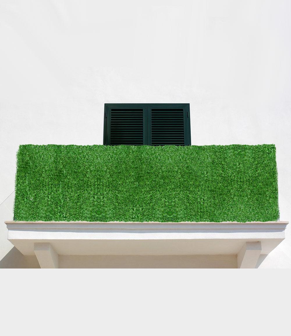Sichtschutzhecke Nadel 'grün'