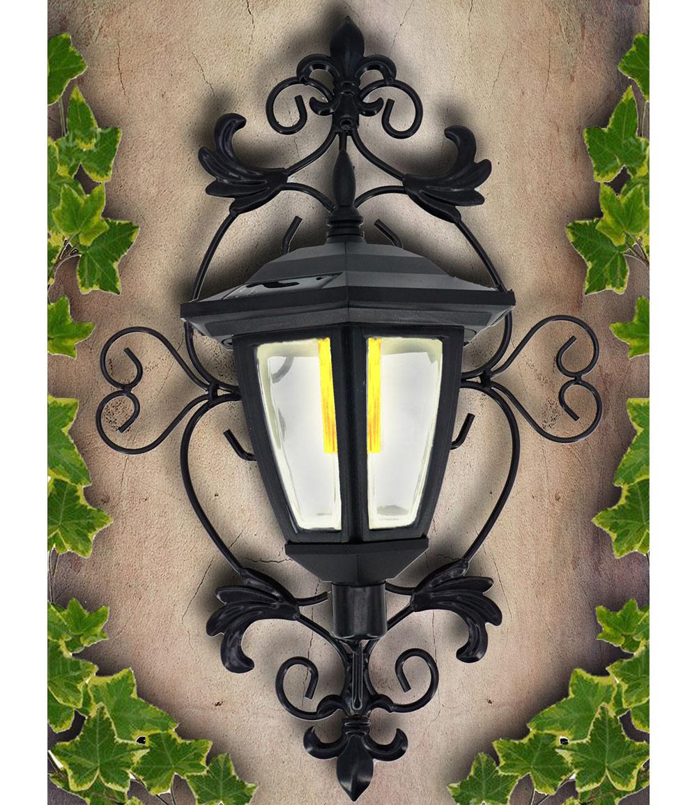 Wand-Solarleuchte LED