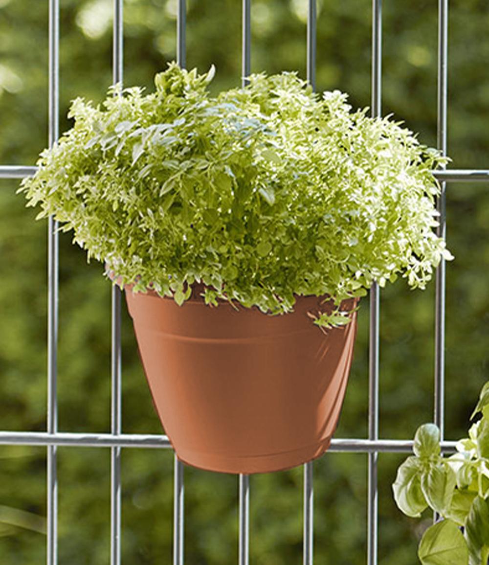 EMSA® 'My City Garden' Blumenkübel, terrakotta ø 20 cm