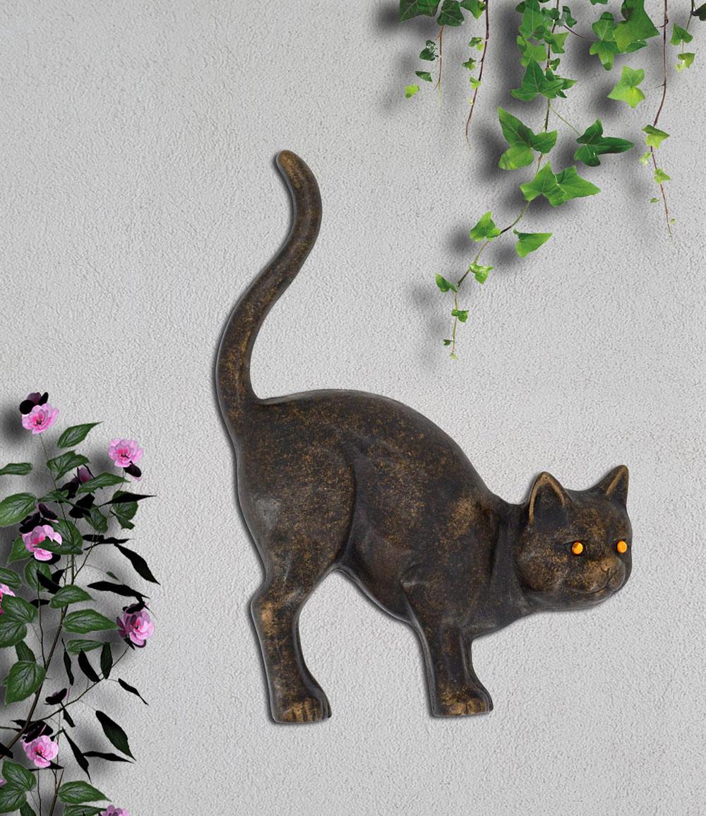 Wanddekoration 'Katze'