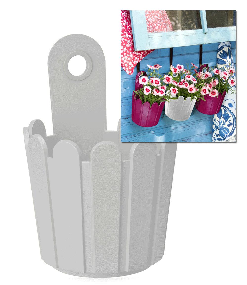 EMSA® 'Landhaus-Fässchen' weiß 15 cm ø