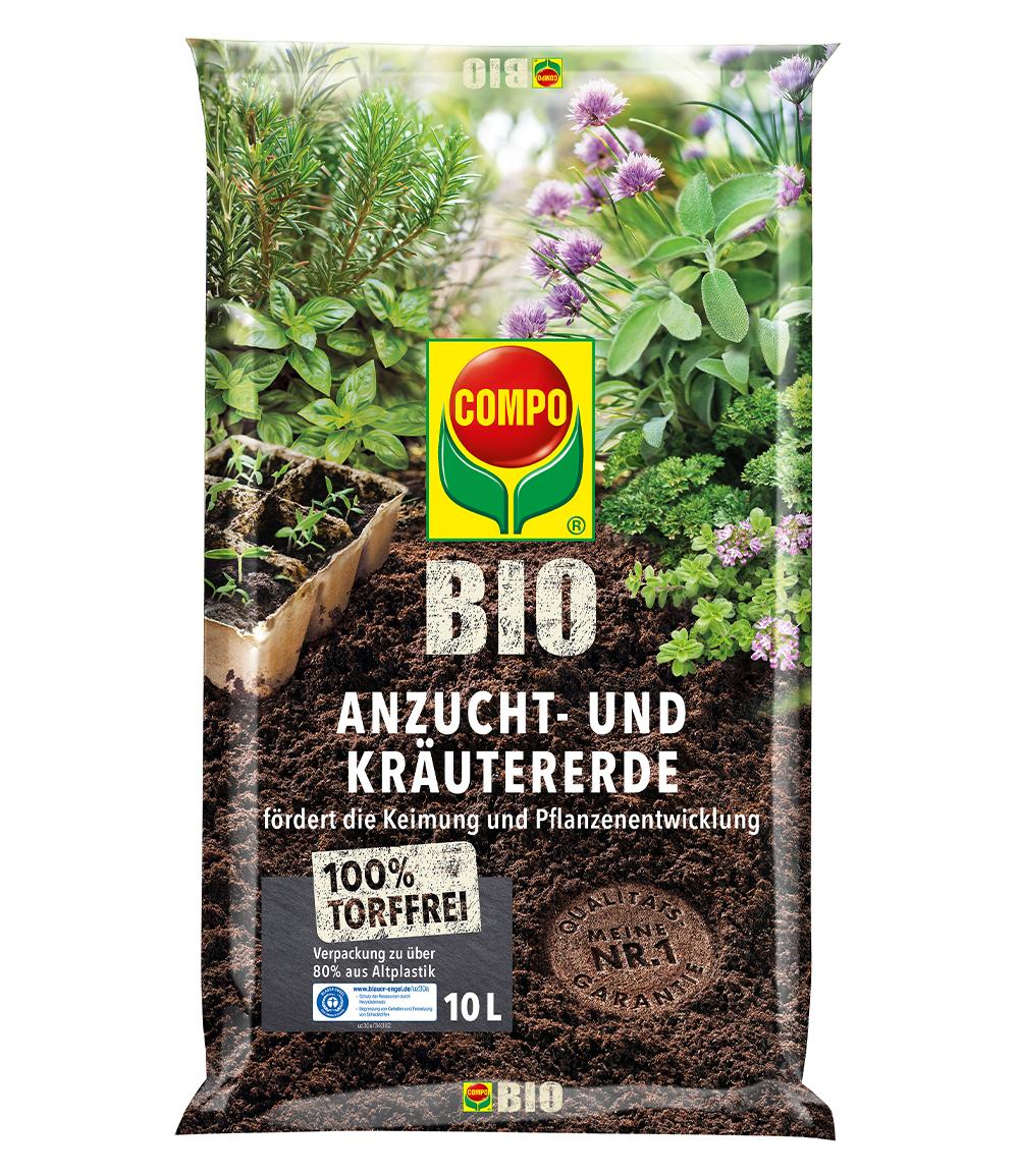COMPO® BIO Anzucht- und Kräutererde