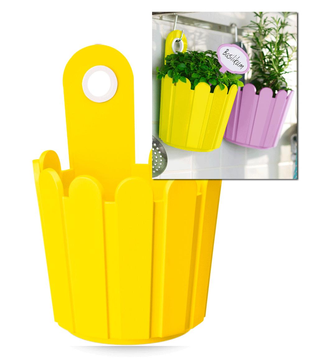EMSA® 'Landhaus-Fässchen' gelb 15 cm ø