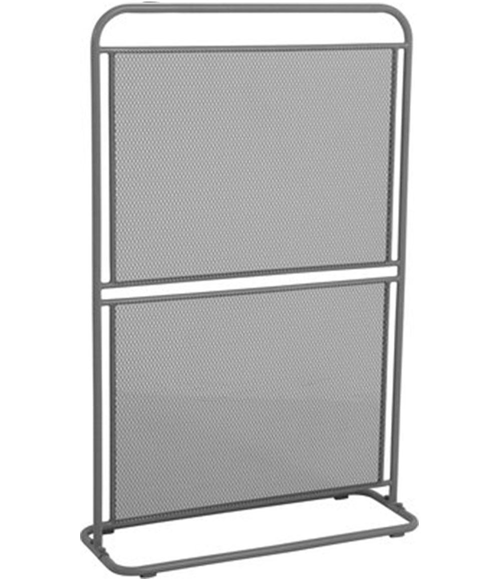 Sichtschutz 'Divido' grau 124x80x30 cm