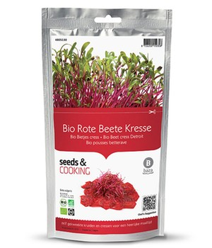 Seeds & Cooking BIO-Rote Beete ´Cylindra´,1 Beutel - broschei